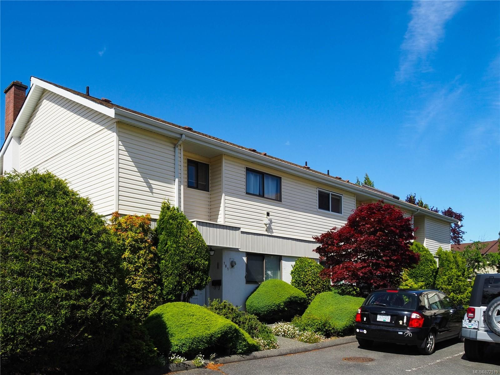Main Photo: 102 1709 McKenzie Ave in : SE Mt Tolmie Row/Townhouse for sale (Saanich East)  : MLS®# 877519