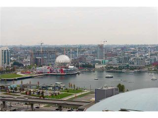 Photo 1: # 2707 188 KEEFER PL in Vancouver: Downtown VW Condo for sale (Vancouver West)  : MLS®# V1033869