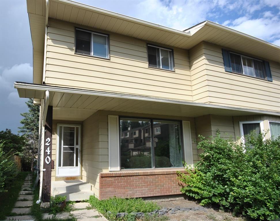 Main Photo: 240 Berwick Drive NW in Calgary: Beddington Heights Semi Detached for sale : MLS®# A1141775