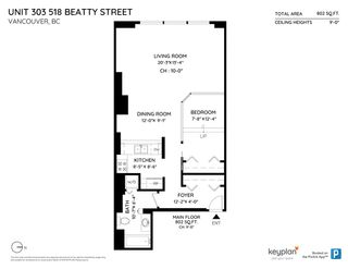 Photo 18: 303 518 BEATTY Street in Vancouver: Downtown VW Condo for sale (Vancouver West)  : MLS®# R2419214