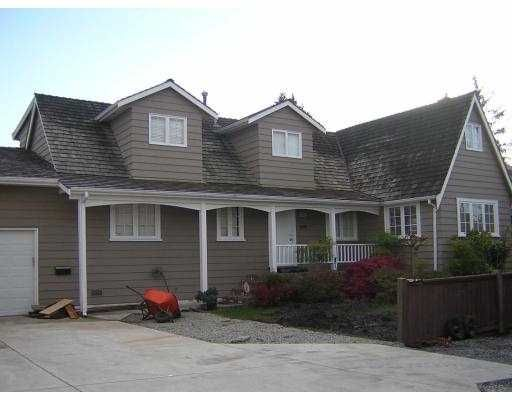 """Main Photo: 8480 SAUNDERS Road in Richmond: Saunders House for sale in """"SAUNDERS"""" : MLS®# V675258"""