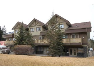 Photo 1: 201 512 Bow Valley Trail: Canmore Condo for sale : MLS®# C4109137