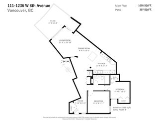 Photo 20: 111 1236 W 8TH Avenue in Vancouver: Fairview VW Condo for sale (Vancouver West)  : MLS®# R2562231