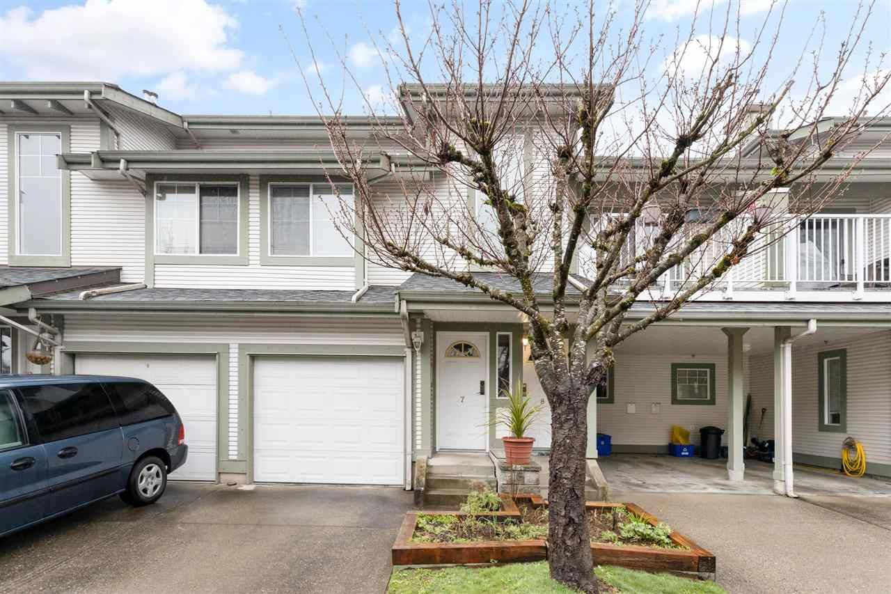 "Main Photo: 7 8892 208 Street in Langley: Walnut Grove Townhouse for sale in ""Hunter's Run"" : MLS®# R2556433"