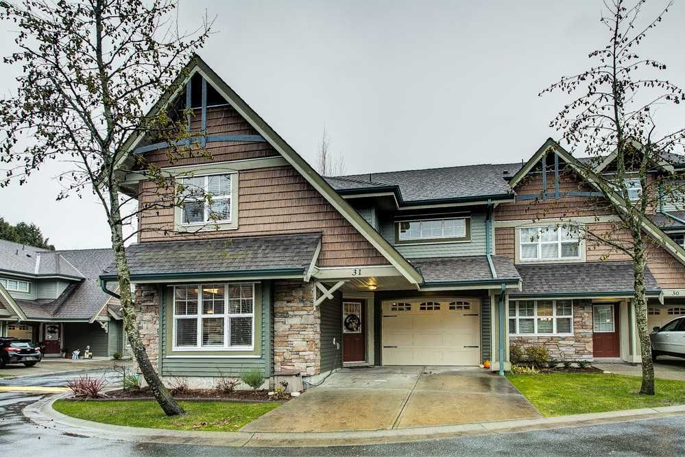 "Main Photo: 31 22977 116 Avenue in Maple Ridge: East Central Townhouse for sale in ""Duet"" : MLS®# R2522709"