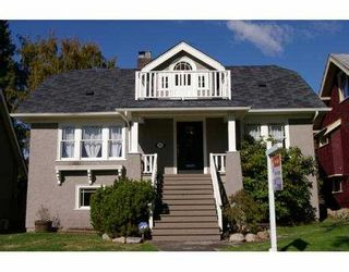 Photo 1: 2153 W 48TH AV in Vancouver: Kerrisdale House for sale (Vancouver West)  : MLS®# V559811