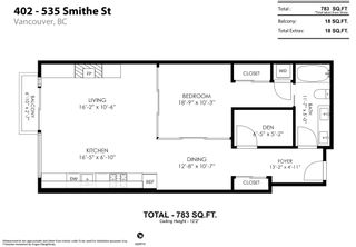 """Photo 23: 402 535 SMITHE Street in Vancouver: Downtown VW Condo for sale in """"DOLCE at Symphony Place"""" (Vancouver West)  : MLS®# R2601773"""