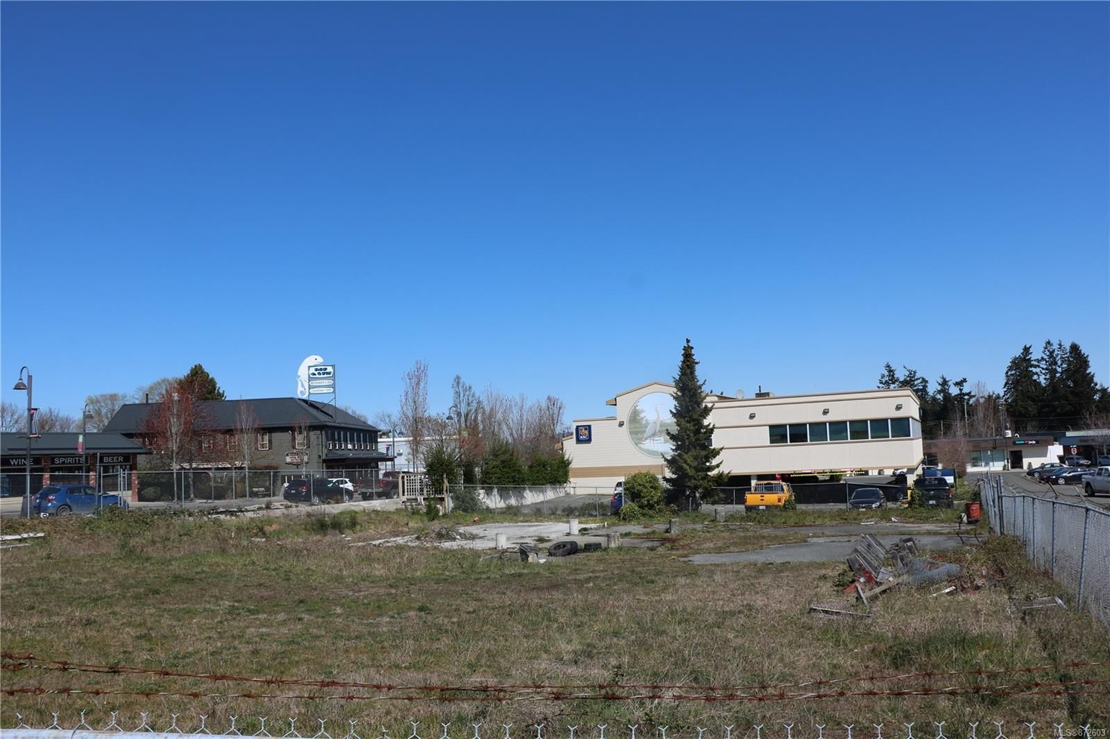 Main Photo: 164 Alberni Hwy in : PQ Parksville Unimproved Land for sale (Parksville/Qualicum)  : MLS®# 872603