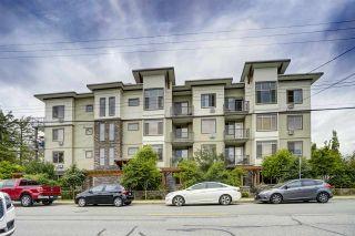 "Photo 1: 403 11887 BURNETT Street in Maple Ridge: East Central Condo for sale in ""Wellington Station"" : MLS®# R2386406"