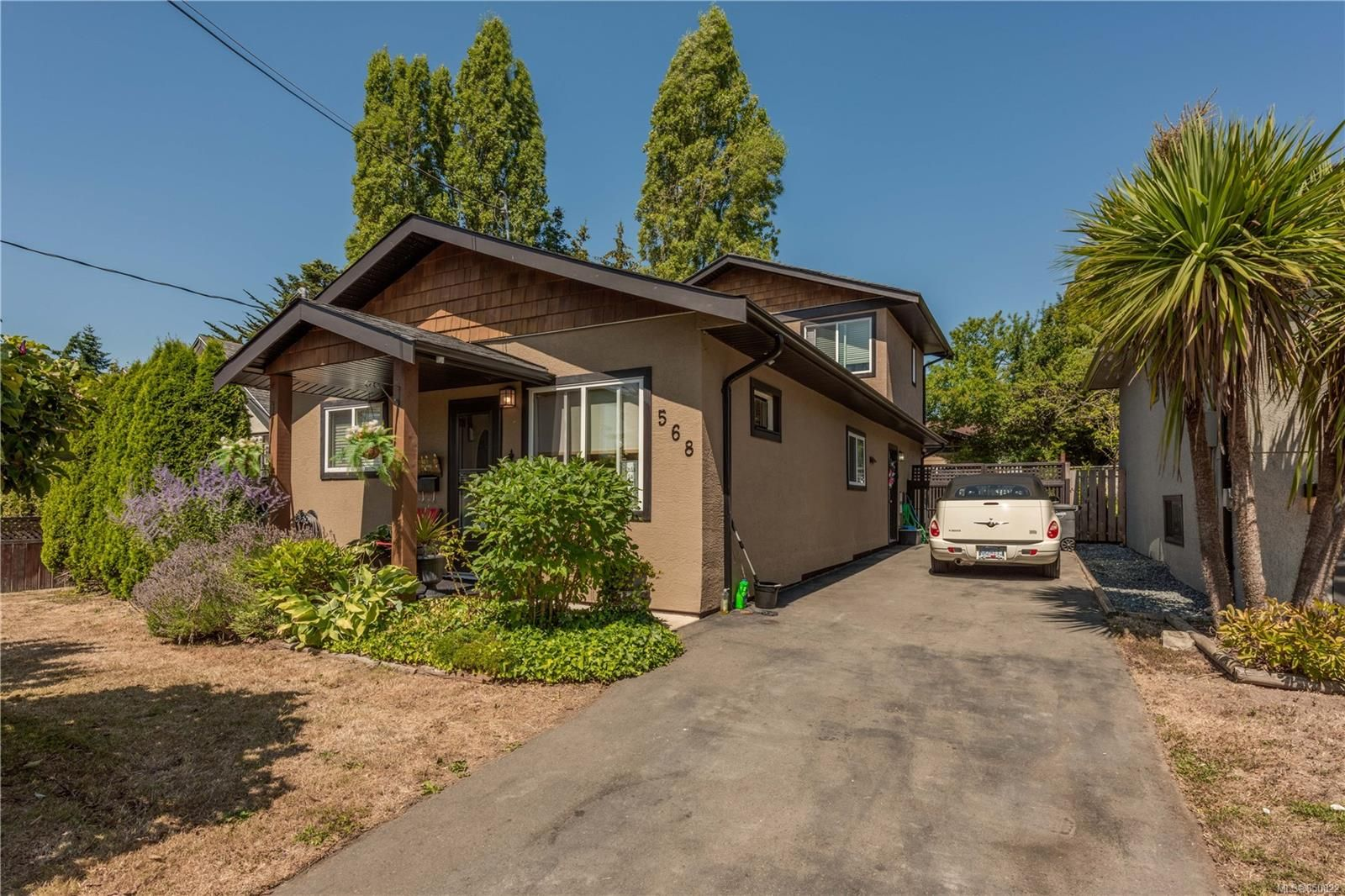 Substantially updated inside and out, with RV parking and beautiful garden.