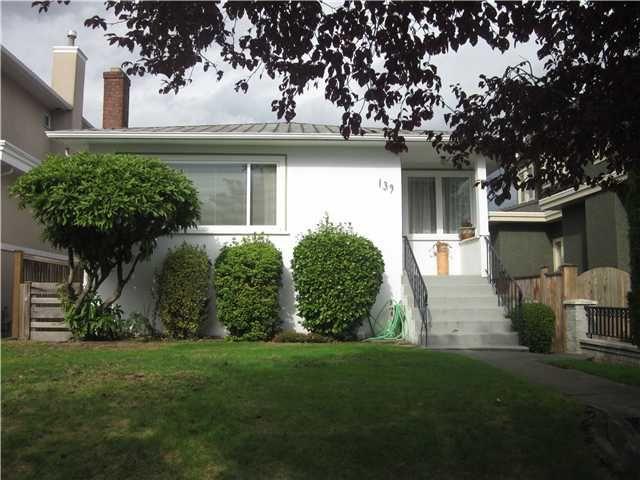 Main Photo: 139 W 46TH AV in Vancouver: Oakridge VW House for sale (Vancouver West)  : MLS®# V915520