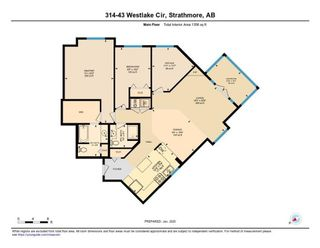 Photo 30: 314 43 WESTLAKE Circle: Strathmore Apartment for sale : MLS®# A1129797