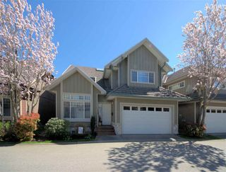"""Photo 1: 28 3363 ROSEMARY HEIGHTS Crescent in Surrey: Morgan Creek Townhouse for sale in """"Rockwell"""" (South Surrey White Rock)  : MLS®# R2568501"""