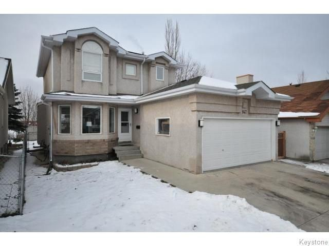 Main Photo: 147 George Marshall Way in Winnipeg: Single Family Detached for sale (Canterbury Park)  : MLS®# 1123307