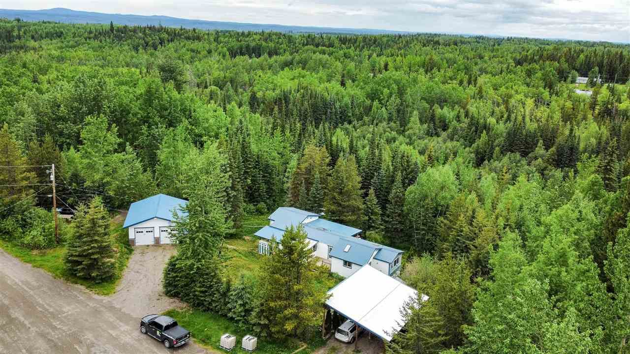 Main Photo: 10570 FAIRWAY Road in Prince George: Shelley Manufactured Home for sale (PG Rural East (Zone 80))  : MLS®# R2588144