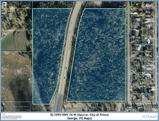"""Photo 1: W 16 HIGHWAY in Prince George: Lafreniere Land for sale in """"Lafreniere"""" (PG City South (Zone 74))  : MLS®# R2625776"""