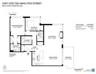 """Photo 20: 1703 720 HAMILTON Avenue in New Westminster: Uptown NW Condo for sale in """"Generations"""" : MLS®# R2447209"""
