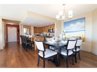 """Photo 8: 911 1450 PENNYFARTHING Drive in Vancouver: False Creek Condo for sale in """"HARBOUR COVE"""" (Vancouver West)  : MLS®# V1045664"""