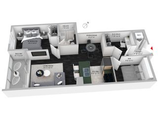 """Photo 13: 307 1001 RICHARDS Street in Vancouver: Downtown VW Condo for sale in """"MIRO"""" (Vancouver West)  : MLS®# R2137309"""