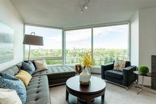 Photo 4: 604 837 2 Avenue SW in Calgary: Eau Claire Apartment for sale : MLS®# C4268169