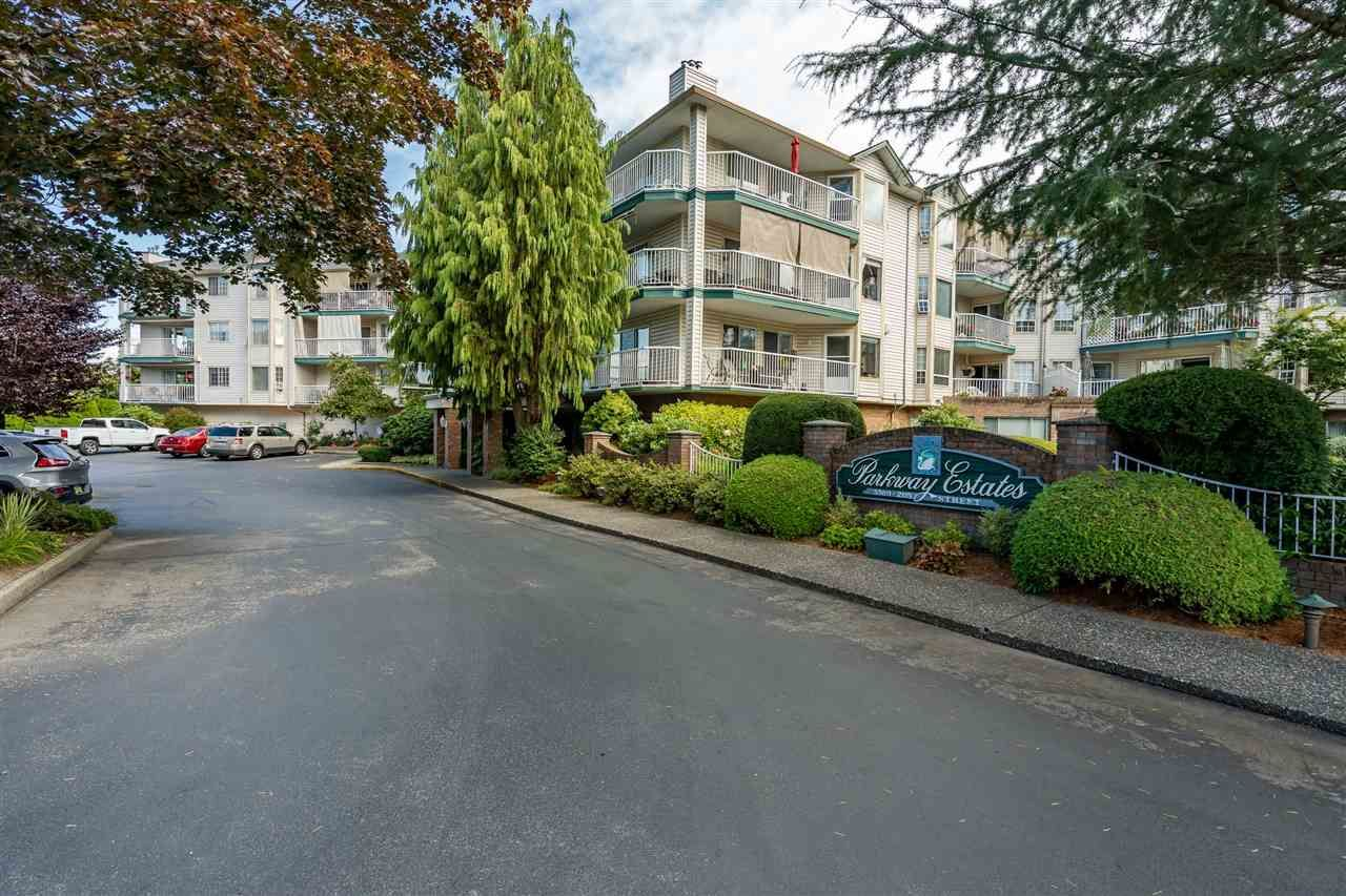 "Main Photo: 308 5360 205 Street in Langley: Langley City Condo for sale in ""Parkway Estates"" : MLS®# R2496597"