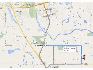 Photo 1: 262034 80 St E in DE WINTON: Rural Foothills M.D. Rural Land for sale : MLS®# C3631916