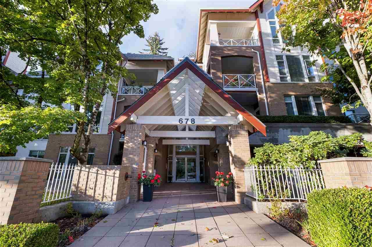 "Main Photo: 306 678 W QUEENS Road in North Vancouver: Delbrook Condo for sale in ""QUEENSBROOK"" : MLS®# R2509906"