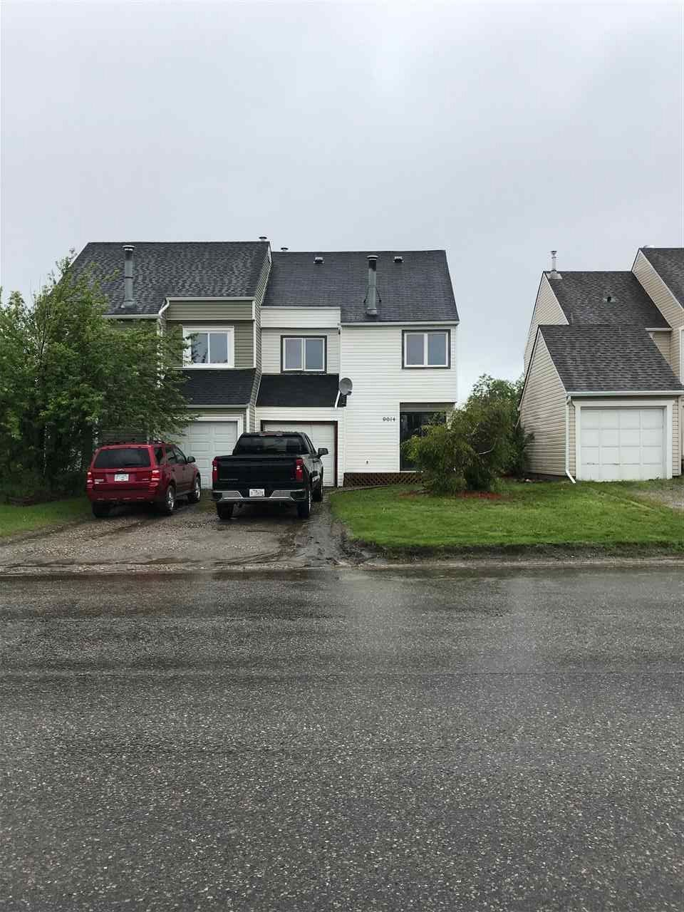 Main Photo: 9014 112 Avenue in Fort St. John: Fort St. John - City NE 1/2 Duplex for sale (Fort St. John (Zone 60))  : MLS®# R2534695