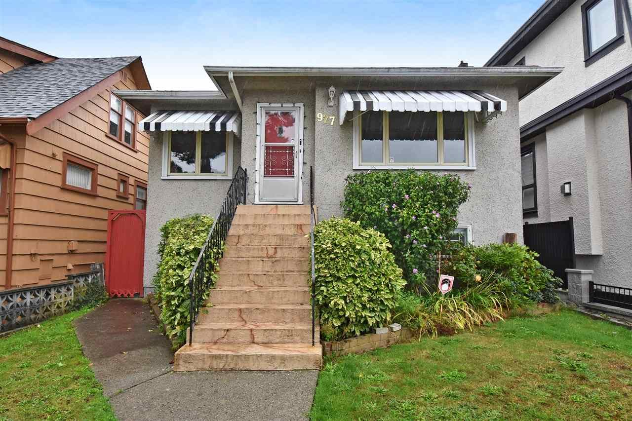 Main Photo: 927 E 63RD Avenue in Vancouver: South Vancouver House for sale (Vancouver East)  : MLS®# R2310590