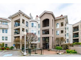 "Photo 1: 302 3176 GLADWIN Road in Abbotsford: Central Abbotsford Condo for sale in ""REGENCY PARK"" : MLS®# R2553395"