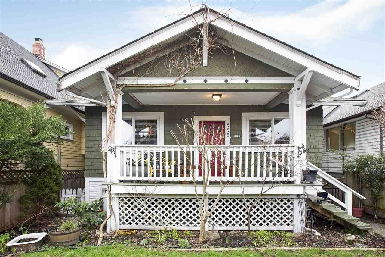 Main Photo: 555 E 12TH Avenue in Vancouver: Mount Pleasant VE House for sale (Vancouver East)  : MLS®# R2541400
