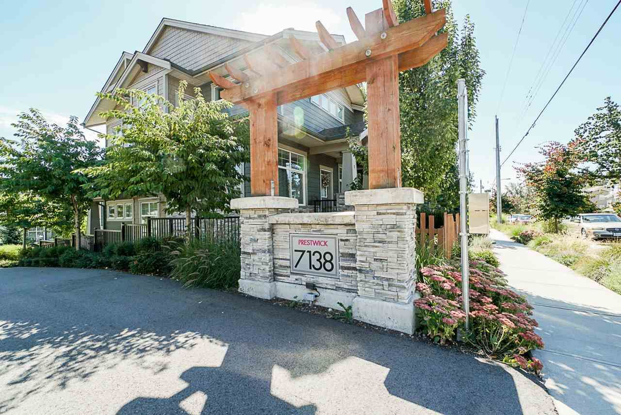 """Main Photo: 81 7138 210 Street in Langley: Willoughby Heights Townhouse for sale in """"Prestwick"""" : MLS®# R2538153"""