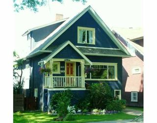 """Photo 1: 823 W 20TH AV in Vancouver: Cambie House for sale in """"DOUGLAS PARK"""" (Vancouver West)  : MLS®# V599924"""