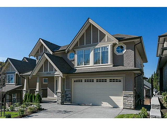 Main Photo: 3508 CHANDLER Street in Coquitlam: Burke Mountain House for sale : MLS®# V1091531