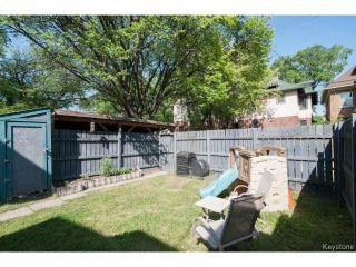 Photo 19: 139 Arlington Street in WINNIPEG: West End / Wolseley Residential for sale (West Winnipeg)  : MLS®# 1418074