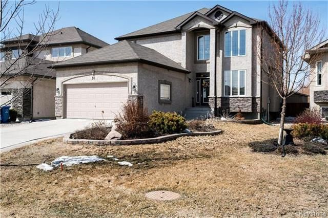 Main Photo: 91 Kingfisher Crescent in Winnipeg: South Pointe Residential for sale (1R)  : MLS®# 1808783
