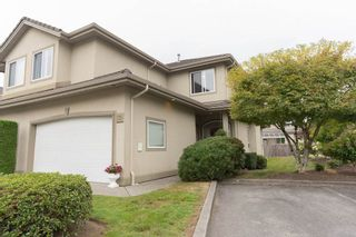 """Photo 1: 29 998 RIVERSIDE Drive in Port Coquitlam: Riverwood Townhouse for sale in """"PARKSIDE PLACE"""" : MLS®# R2310532"""