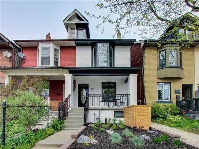 Main Photo: 601A Pape Avenue in Toronto: South Riverdale House (2 1/2 Storey) for lease (Toronto E01)  : MLS®# E4139003