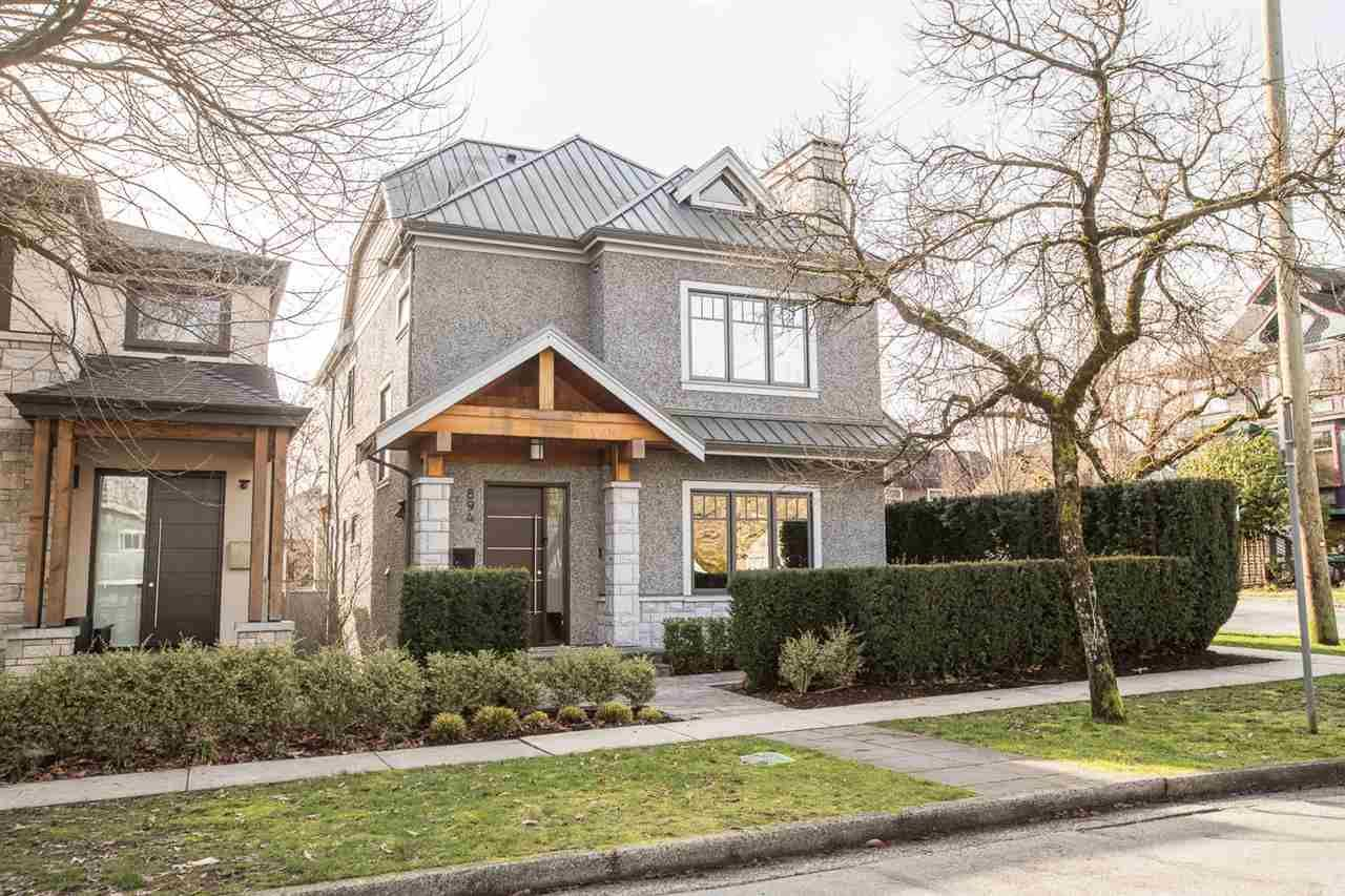 """Photo 1: Photos: 894 W 19TH Avenue in Vancouver: Cambie House for sale in """"CAMBIE"""" (Vancouver West)  : MLS®# R2484635"""
