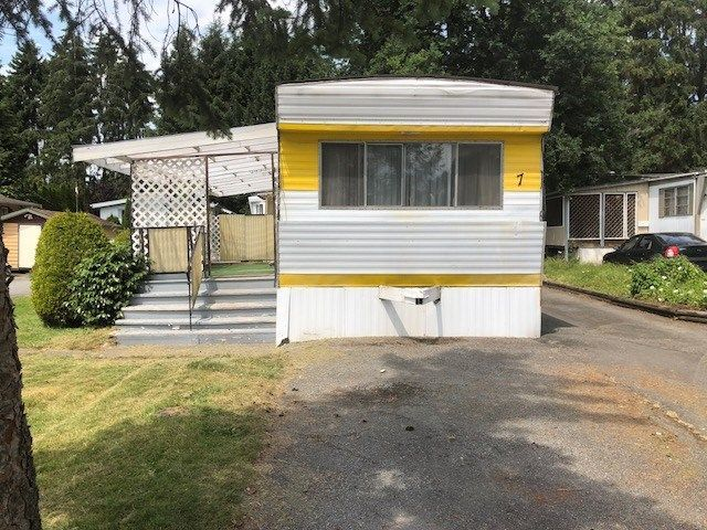 """Main Photo: 7 201 CAYER Street in Coquitlam: Maillardville Manufactured Home for sale in """"WILDWOOD PARK"""" : MLS®# R2283036"""