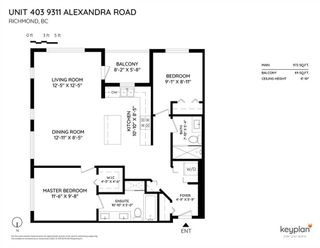 Photo 20: 403 9311 ALEXANDRA Road in Richmond: West Cambie Condo for sale : MLS®# R2402740