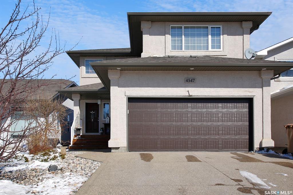 Main Photo: 4547 Solie Crescent in Regina: Lakeridge RG Residential for sale : MLS®# SK847451