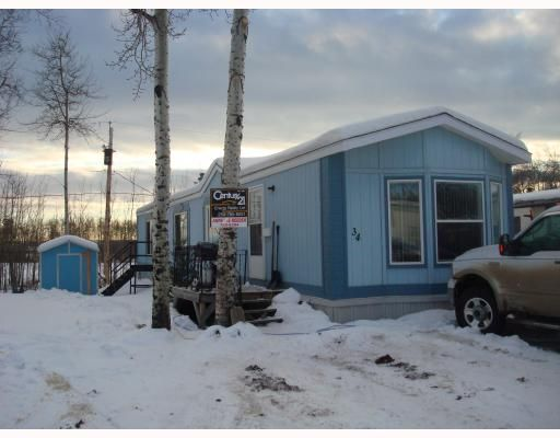 """Main Photo: 34 7414 FOREST LAWN Street in Fort_St._John: Fort St. John - Rural E 100th Manufactured Home for sale in """"FOREST LAWN TRAILER PARK"""" (Fort St. John (Zone 60))  : MLS®# N178838"""