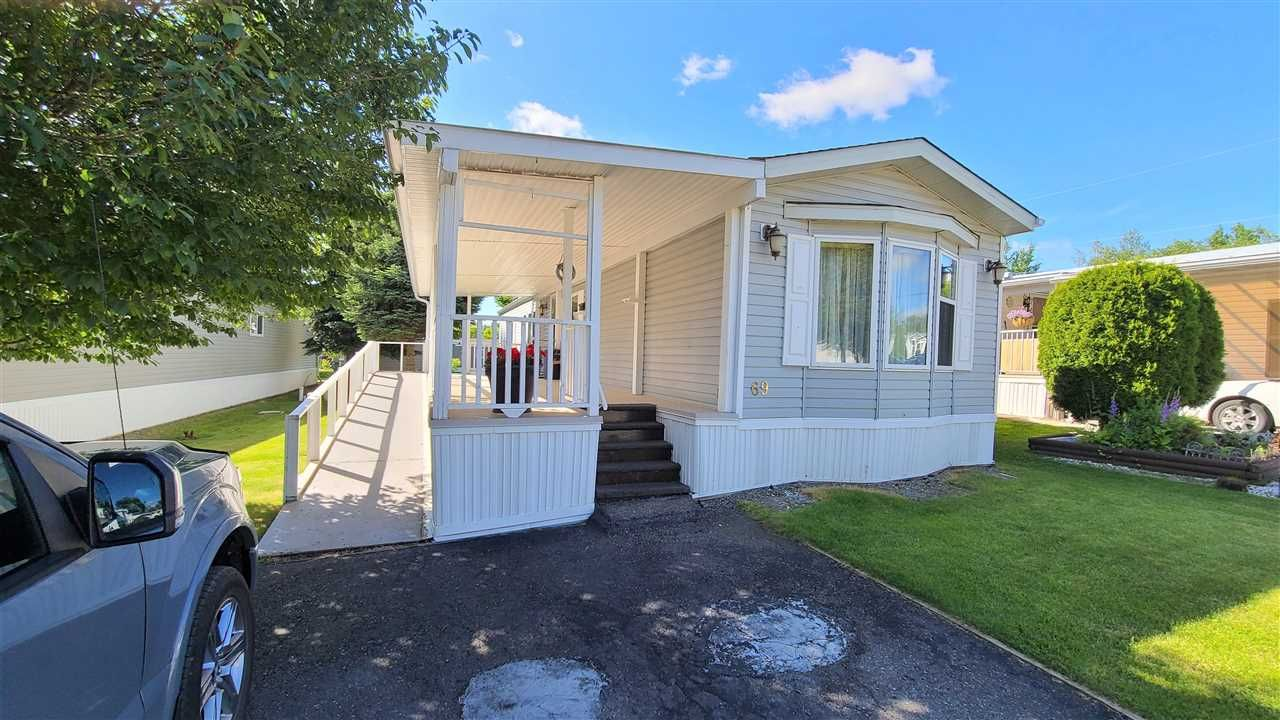 """Main Photo: 69 1000 INVERNESS Road in Prince George: Aberdeen PG Manufactured Home for sale in """"INVERNESS PARK"""" (PG City North (Zone 73))  : MLS®# R2545073"""