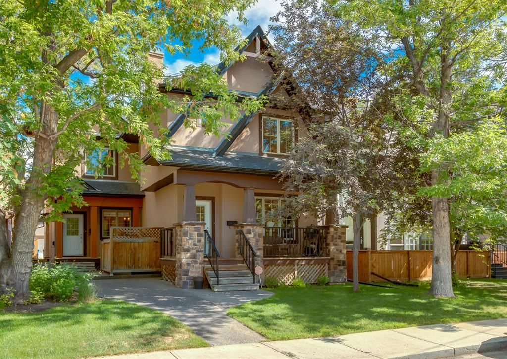 Main Photo: 1 2326 2 Avenue NW in Calgary: West Hillhurst Row/Townhouse for sale : MLS®# A1121614