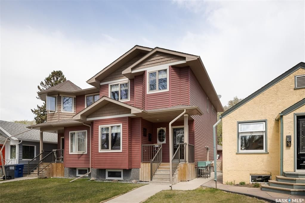 Main Photo: 708 31st Street West in Saskatoon: Caswell Hill Residential for sale : MLS®# SK862785