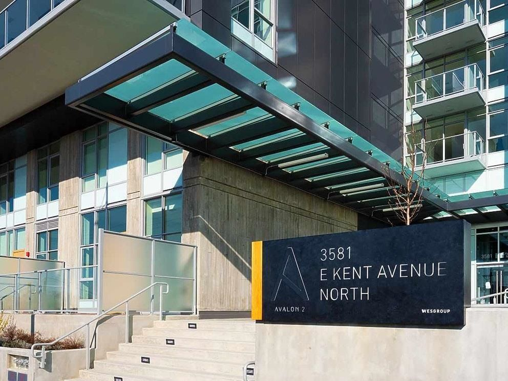 """Main Photo: 906 3581 E KENT AVENUE NORTH in Vancouver: South Marine Condo for sale in """"Avalon 2"""" (Vancouver East)  : MLS®# R2605264"""