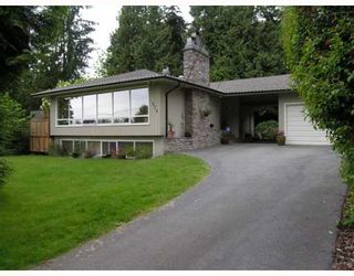 Photo 1: 574 W ST JAMES Road in North_Vancouver: Delbrook House for sale (North Vancouver)  : MLS®# V753119
