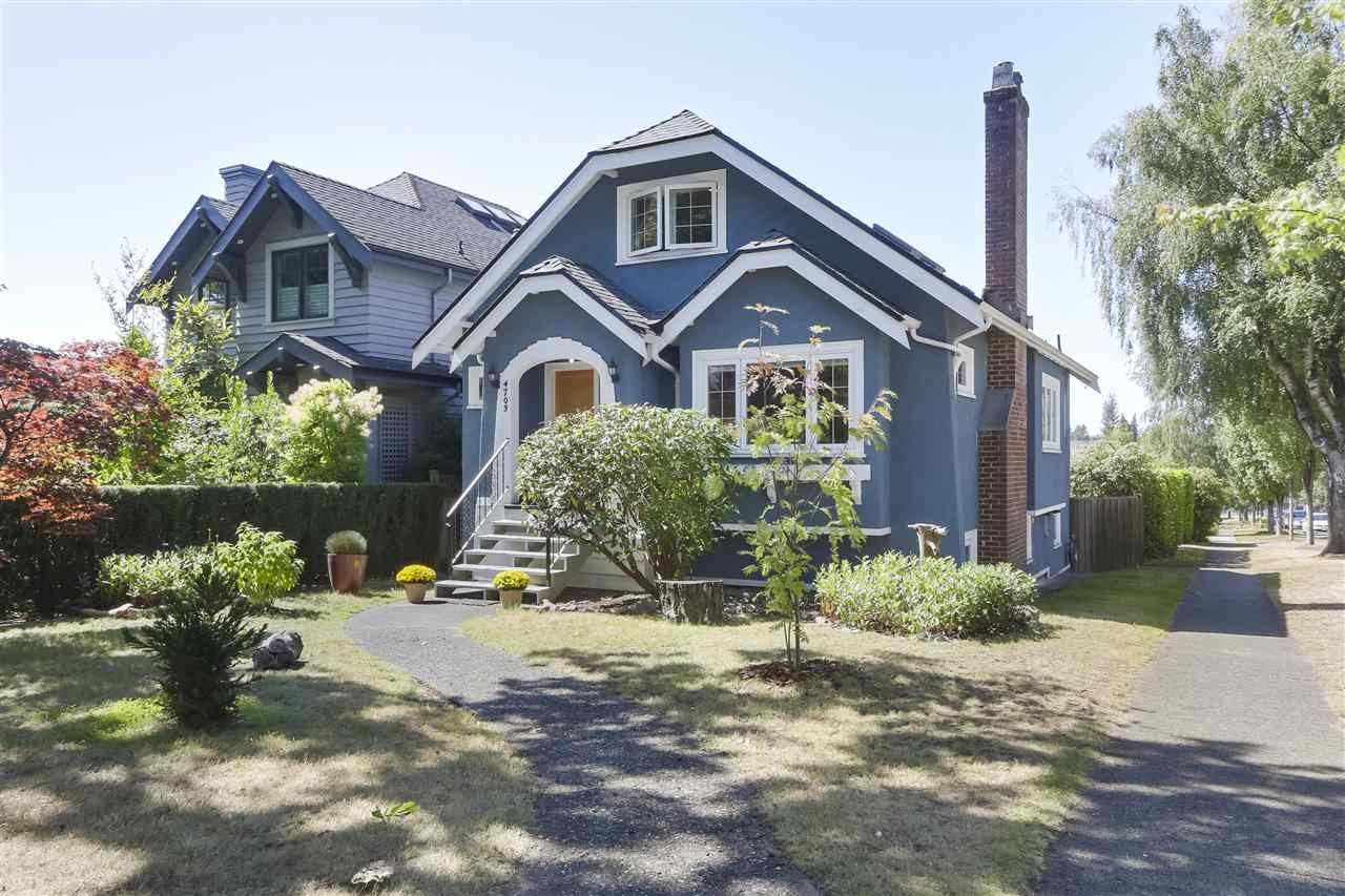 Main Photo: 4703 COLLINGWOOD Street in Vancouver: Dunbar House for sale (Vancouver West)  : MLS®# R2401030