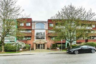 """Photo 1: 103 12025 207A Street in Maple Ridge: Northwest Maple Ridge Condo for sale in """"ATRIUM"""" : MLS®# R2057622"""